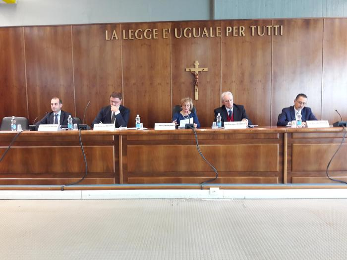 Giustizia: nel Tribunale di Potenza un incontro con il sottosegretario Gennaro Migliore