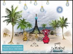 Salerno Piazza della Concordia 2016