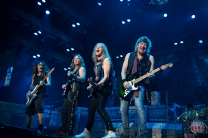 IRON MAIDEN 26/4/16 SHANGHAI CHINA JOHN McMURTRIE
