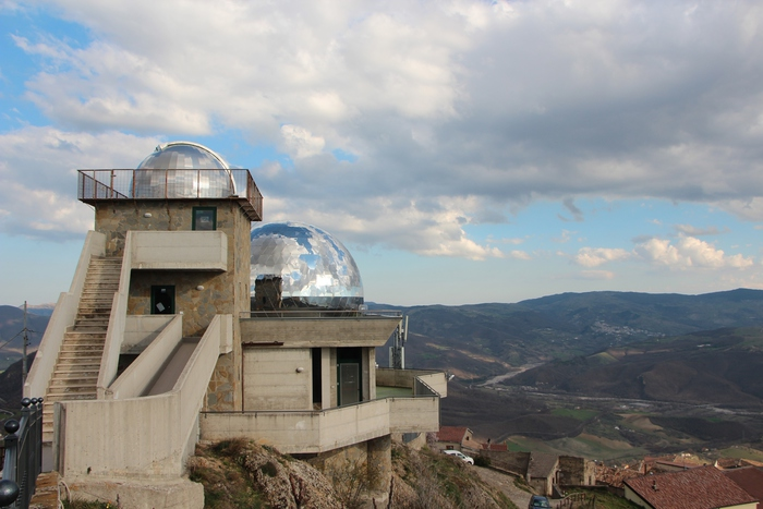 Il planetario di Anzi (Potenza), in Basilicata