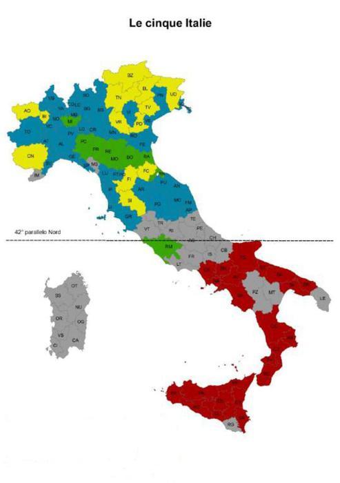Rapporto 'Le cinque Italie' dell'Acli