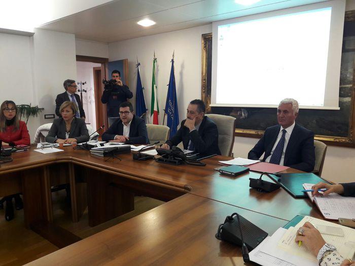 Petrolio: conferenza stampa della Regione Basilicata e dell'Arpab