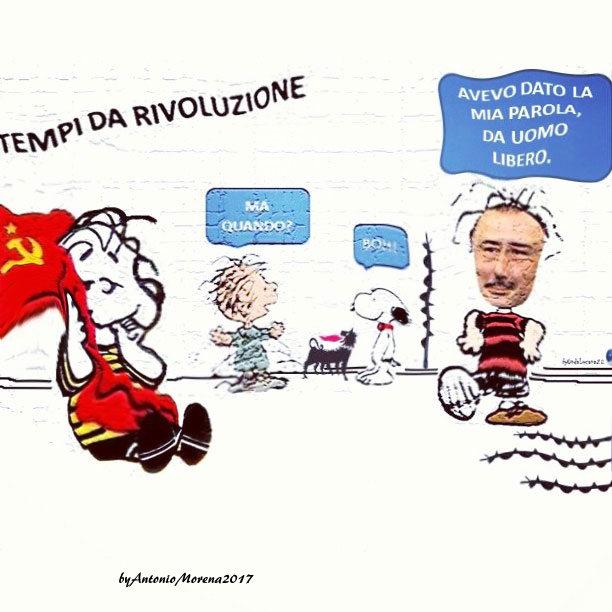 Vignetta tratta da repertorio di Onda Lucana by Antonio Morena 2017 revolution