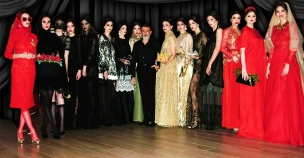 Michele Miglionico e le sue fotomodelle