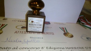 Nicola Gallo premiato terzo posto
