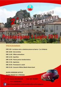 01 luglio Raduno Fiat 500 Pascopagano (pz)
