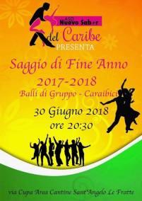 30 giugno Saggio di Fine Anno 2017-2018 Area Cantine Sant'Angelo Le Fratte (pz)