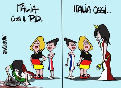 La #ReginaDelMondo è tornata. #ItaliaMiaRegina #ContePremier 