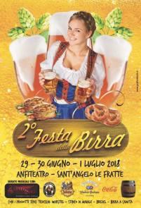 dal 29 al 30 giugno fino al 01 luglio Festa della Birra Anfiteatro Sant'Angelo Le Fratte(pz)