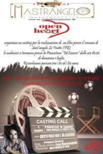 Casting Call 01 luglio Pinacoteca Cancro Sant'Angelo Le Fratte (pz)