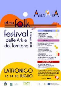 dal 13 al 15 luglio Festival delle Arti e del Territorio 2018 Latronico (pz)