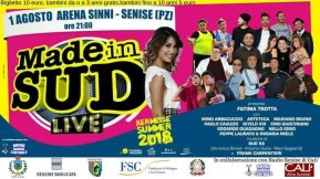 01 agosto Made in Sud Live Arena Sinni-Senise (pz)