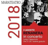 02 agosto Renanera live Marateatro Maratea (pz)