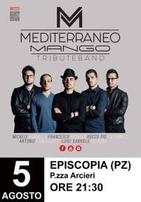 05 agosto Mediterraneo Mango Tribute Band-Episcopia (pz)