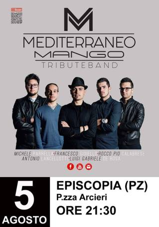 05 agosto Mediterraneo Mango Tribute Band-Episcopia (pz)