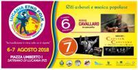 06-07 agosto Riti arborei e Musica popolare Satriano di Lucania (pz)