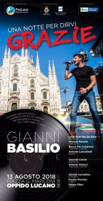 13 agosto Gianni Basilio Piazza G.Marconi Oppido Lucano (pz)