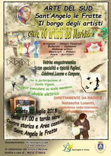 21 luglio Artedel Sud-Il Borgo degli Artisti-Sant'Angelo Le Fratte (pz)