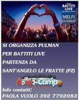 22 luglio Melfi-Battiti Live