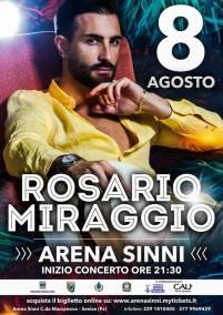 8 agosto Arena Sinni Rosario Miraggio Senise (pz)