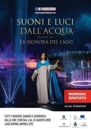 dal 03 al 31 agosto La Signora del Lago Nemoli (pz)