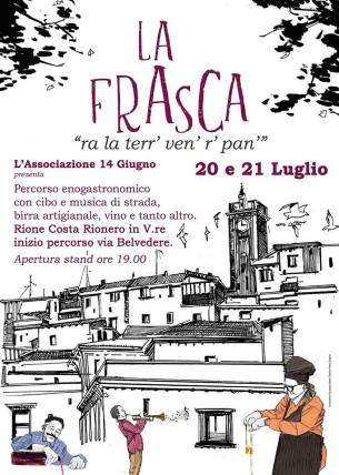 """dal 20 al 21 luglio """"La Frasca"""" Rione Costa-Rionero in Vulture (pz)"""