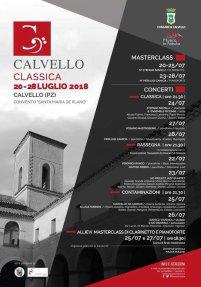 dal 20 al 28 luglio Classica Calvello (pz)