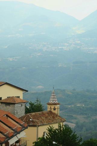 Foto di Luciano Bruno Panorama Valle del Mercure da Castelluccio Superiore