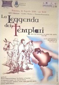 16 agosto La Leggenda dei Templari Forenza (pz)