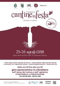 25 26 agosto Cantine in Festa Rionero in Vulture (pz)