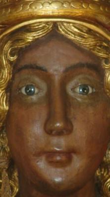 Foto by Tomangelo Cappelli Questa foto è una esclusiva per Onda Lucana, gli occhi della Madonna di Viggiano