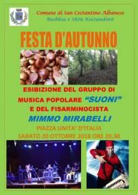20 Ottobre San Costantino Albanese (pz)