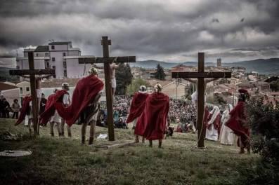20 Aprile Rionero in Vulture (pz) Via Crucis
