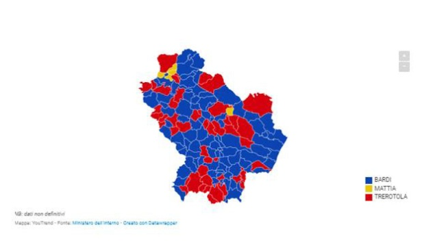 Basilicata elezioni regionali 2019 Fonte YpuTrend.jpg