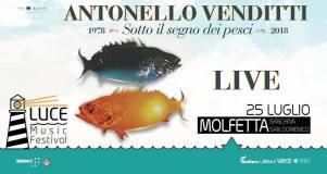 25 Luglio Molfetta (Ba) Antonello Venditti