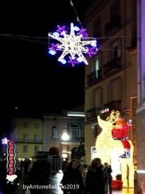 Immagine tratta da repertorio di Onda Lucana®by Antonella Lallo 2019 Potenza e le sue luminarie 0231.111