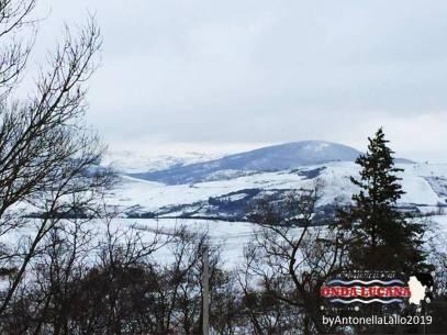 Immagine tratta da repertorio di Onda Lucana®by Antonella Lallo 2019 Potenza prima neve