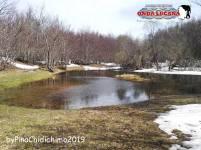L'intensa neve costituisce un lago non ufficiale