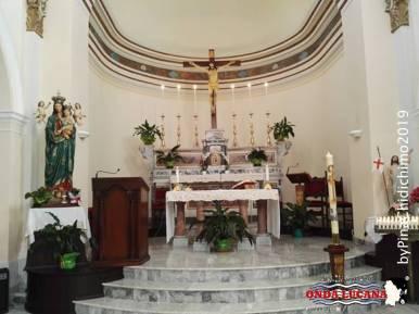 Altare interno Santuario Madonna del Pollino