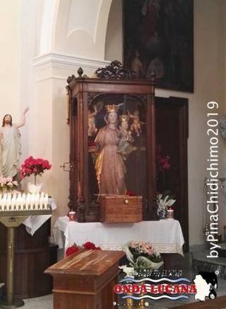 Statua Madonna del Pollino